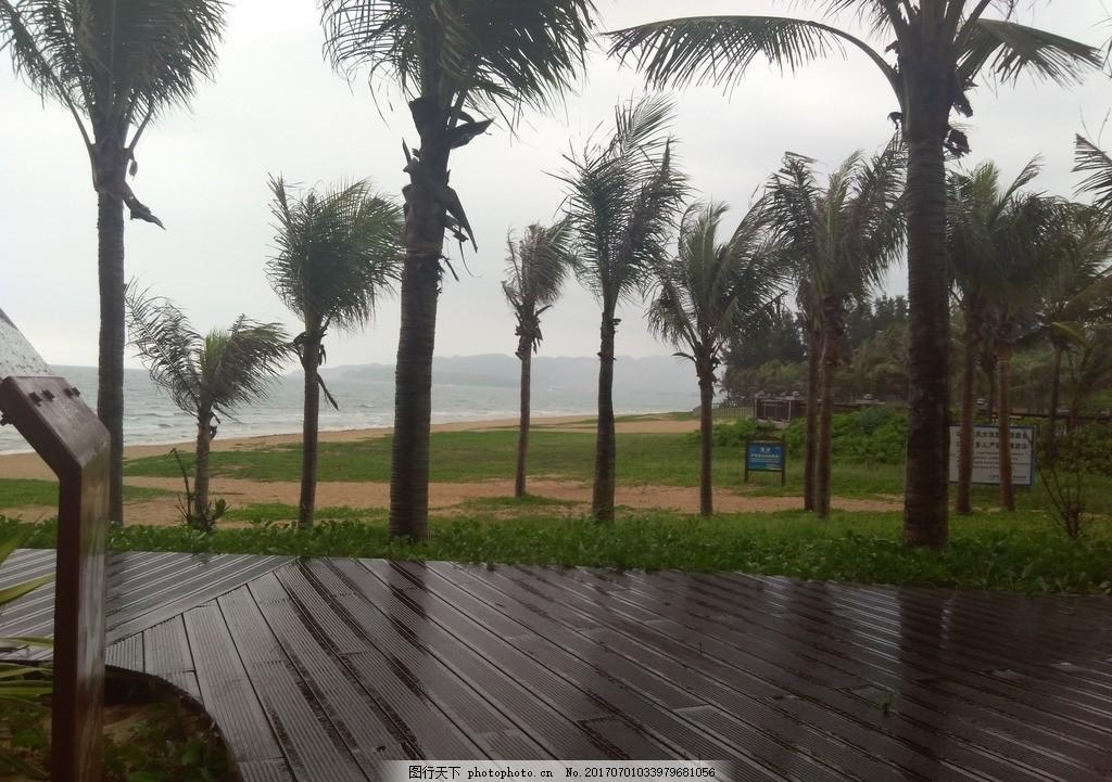 三亚 海南 海南海棠湾 海棠 海棠区 海棠广场 海边 沙滩 公园 椰树