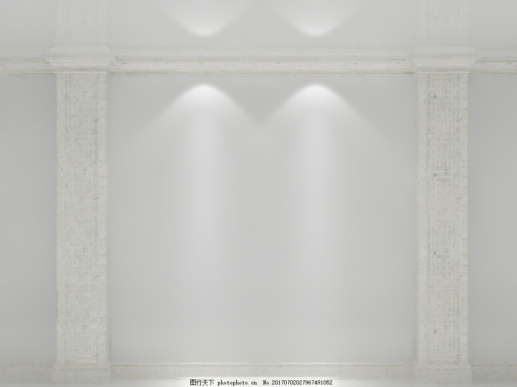 罗马柱模板 场景模板 室内设计 客厅背景墙 电视背景墙 沙发背景墙