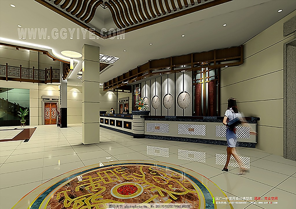婚礼酒店 酒店内堂 文化艺术 艺术厅 中式大厅 中式大堂 音乐厅装潢