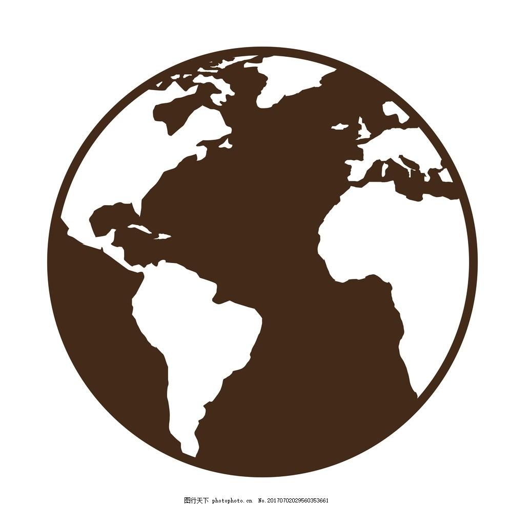 地球 抽象地球 世界地图 拼接地球 地球元素 矢量 地球仪 保护地球