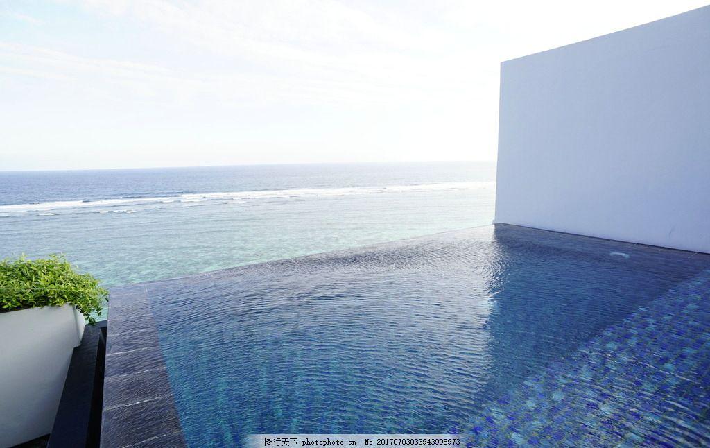 巴厘岛酒店无边泳池海岸度假