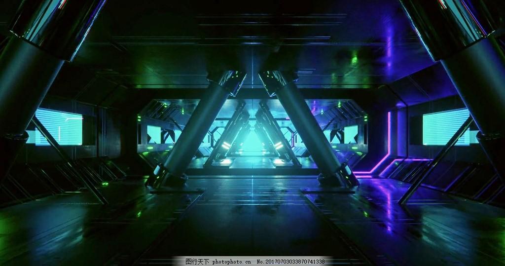 3d光线空间背景