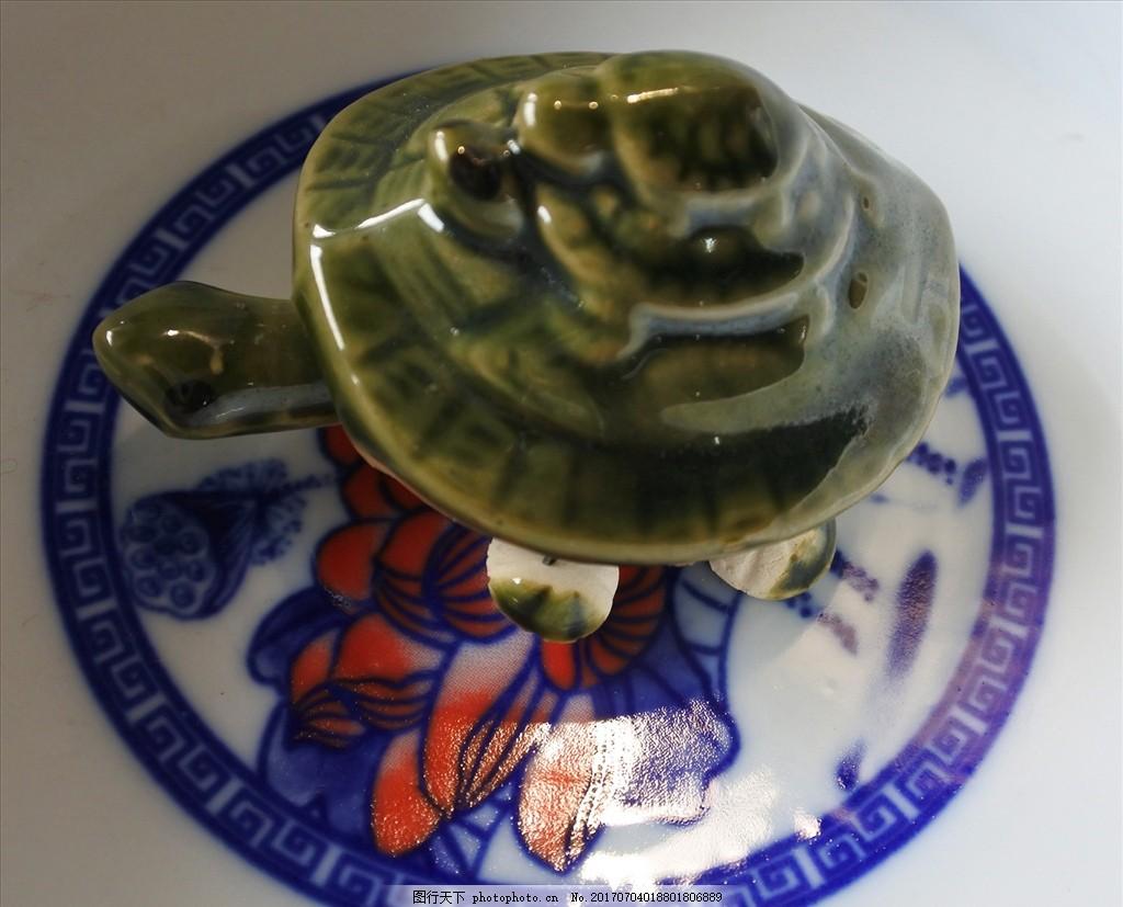 小乌龟 陶瓷 动物 摆件 装饰品 无锡惠山泥人 摄影