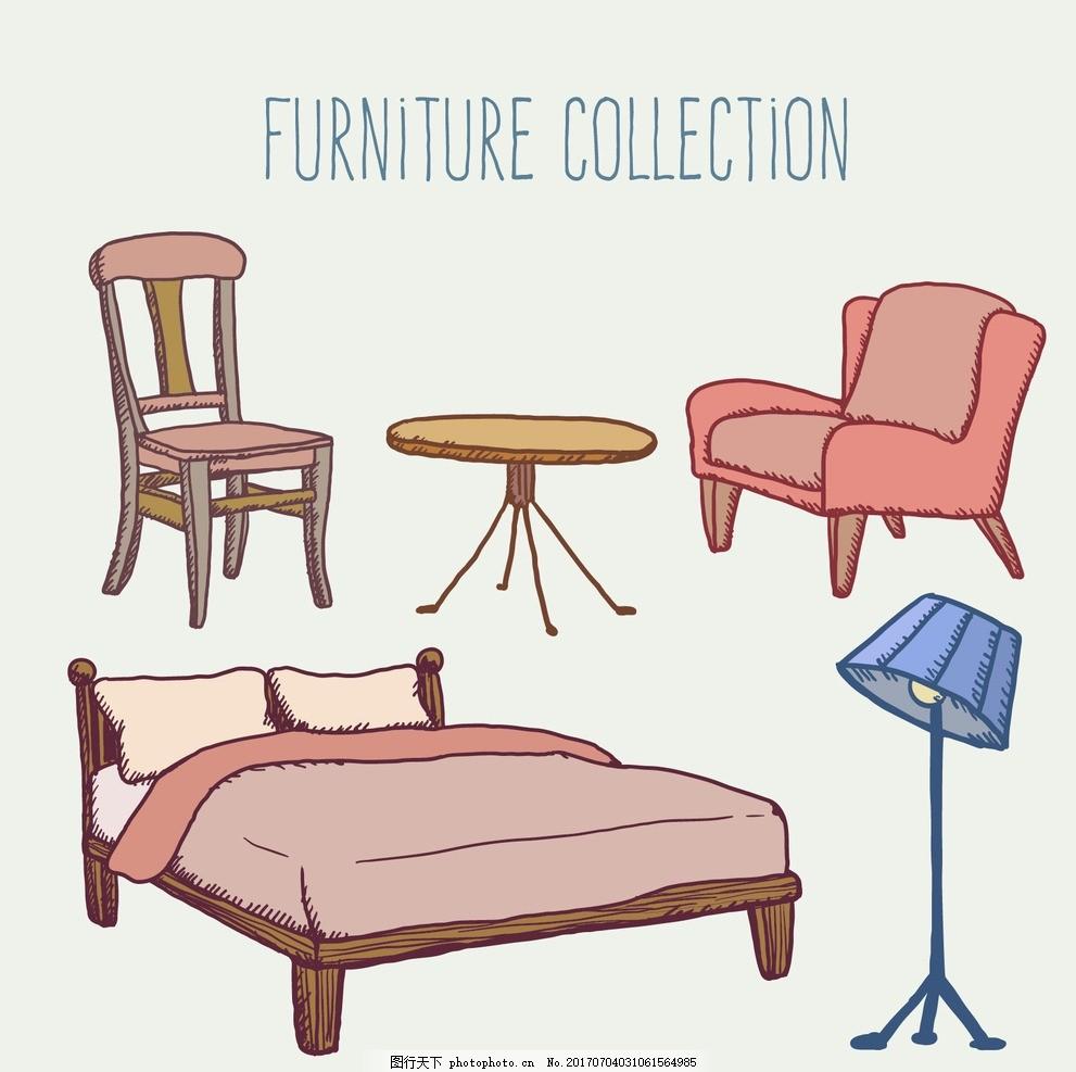 手绘家具收藏