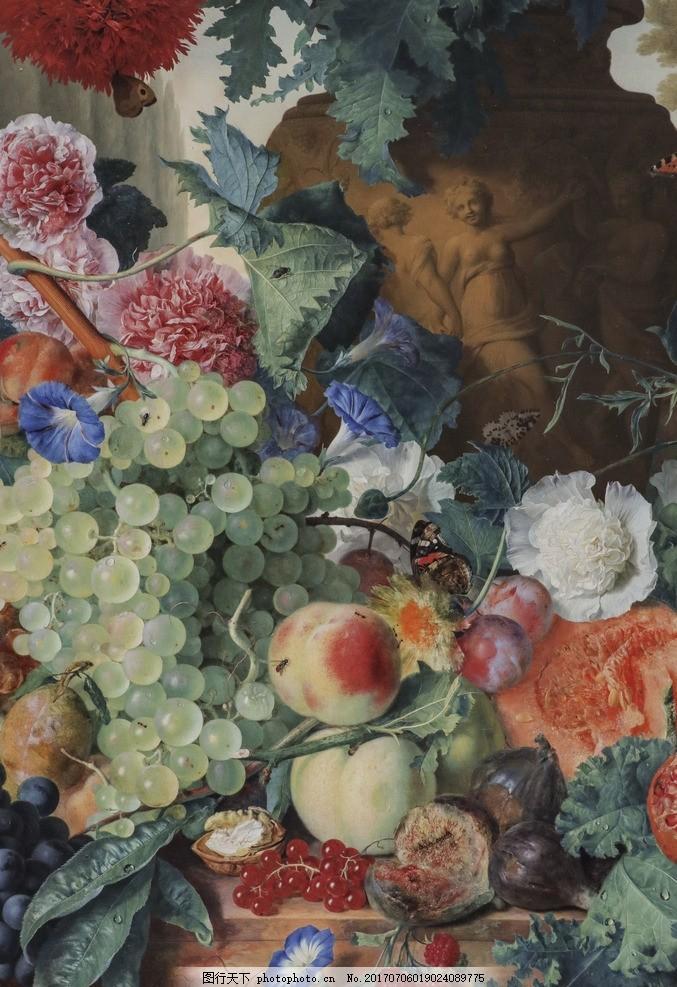 花卉油画 花卉设计 欧美花卉 欧式花卉 欧美油画 创意油画 时尚油画