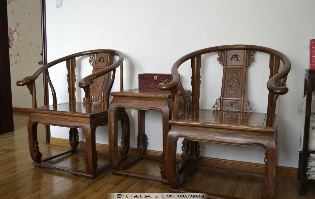 太师椅 椅子 中式 雕花 扶手 海中玉 摄影 建筑园林 室内摄影