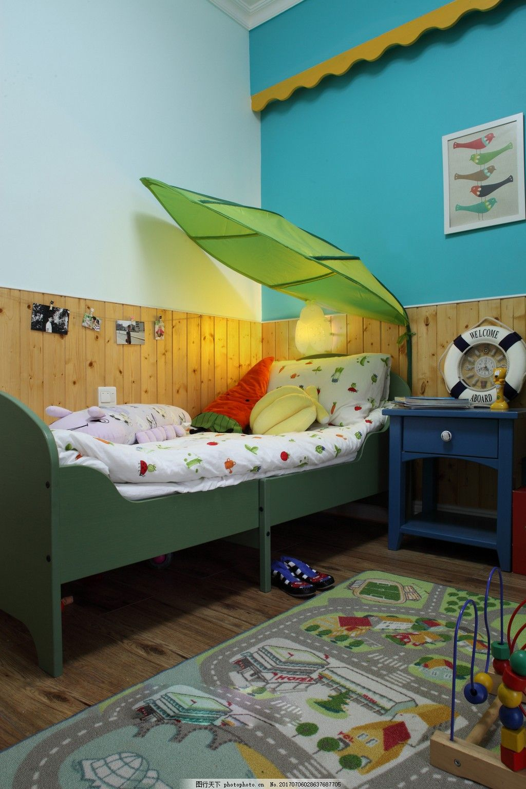 儿童房装修效果图 室内装修效果图图片 时尚 室内设计 设计素材
