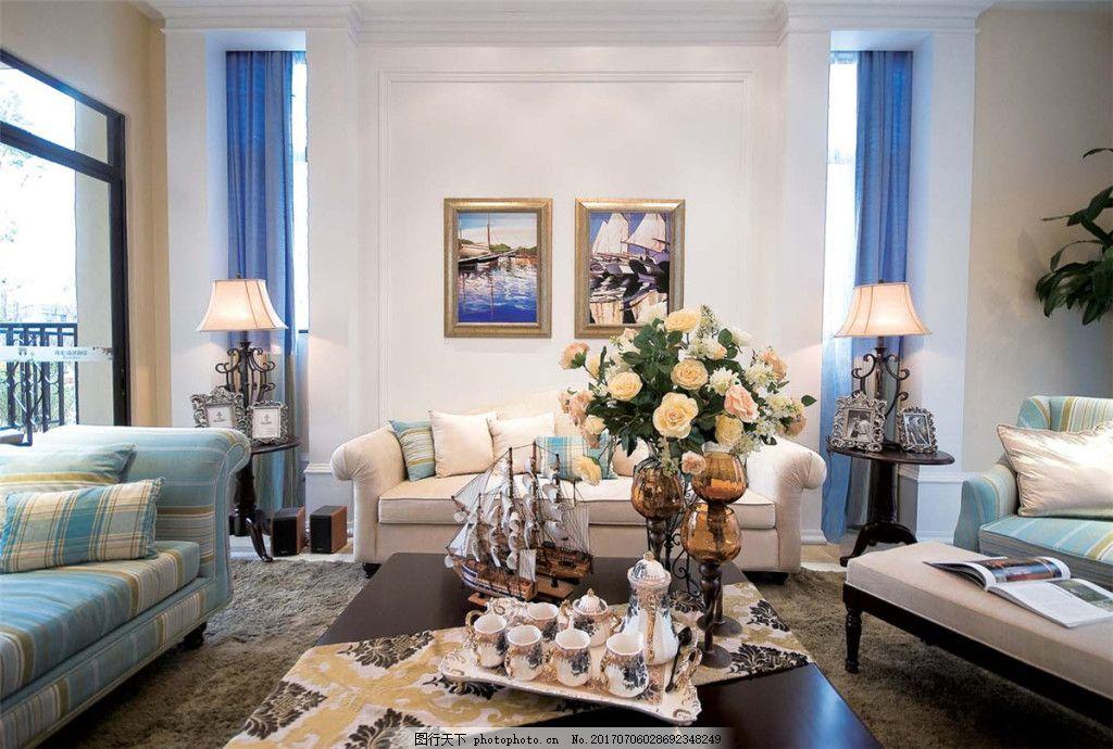 美式家居客廳裝修效果圖 室內裝修效果圖圖片 jpg 時尚 環境設計 室內