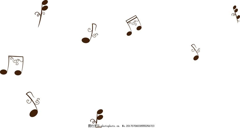 music 音乐背景 音符素材 矢量音符 动感音符 动感 音乐 旋律 乐章图片