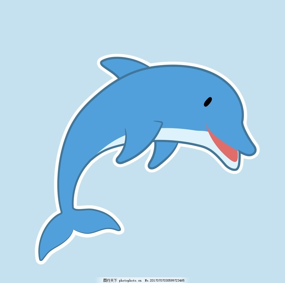 儿童手工制作纸盘海豚