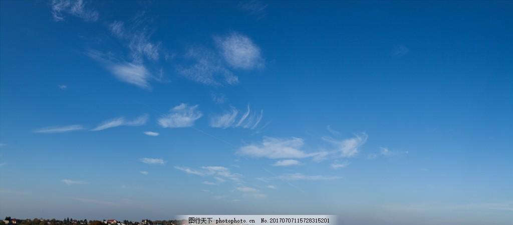 超清蓝天白云 高清蓝天 高清天空 风景 云彩 自然景观 其他