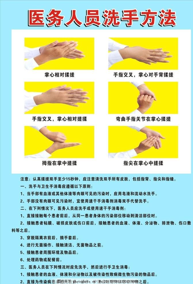 洗手步骤分解图2