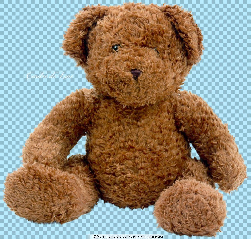 玩具熊娃娃图片免抠png透明图层素材 动物图片大全 可爱动物图片 家禽