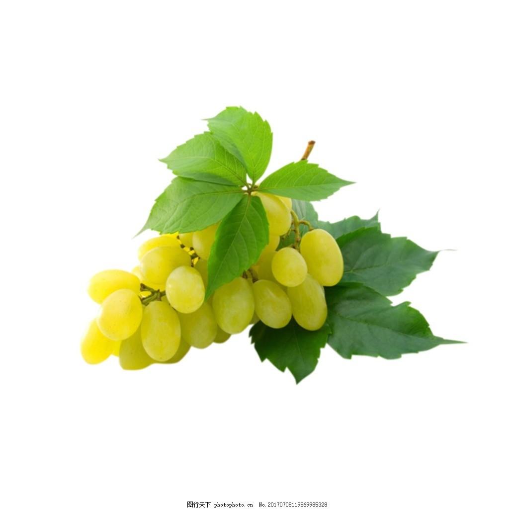 绿色葡萄png透明元素