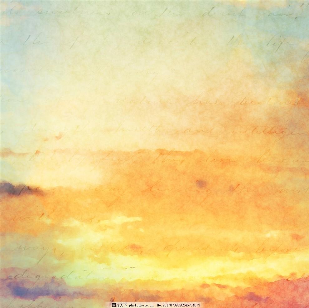 油画 水彩画 油彩 设计 广告设计      水彩封面 背景 设计 底纹边框