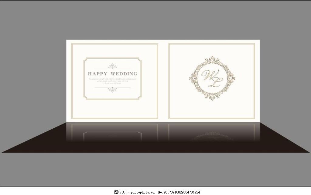 婚礼签到背景 婚礼 简约 签到 背景 欧式 香槟色 婚礼相关 设计 广告