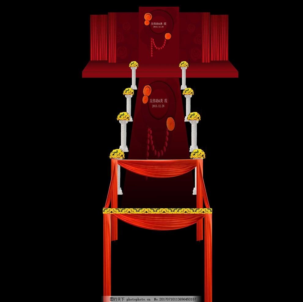 汉式婚礼 红色主题婚礼 红色欧式婚礼 汉唐婚礼 欧式红色婚礼 新式