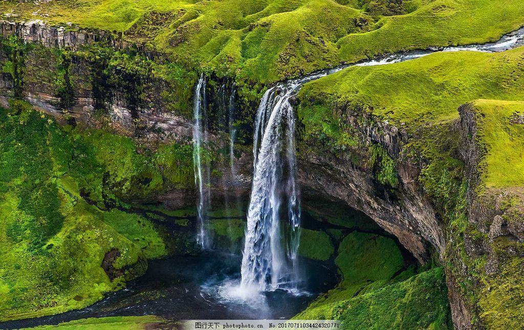 青山绿水,风景 山水 旅游景区 绿草 小河 小溪 石头