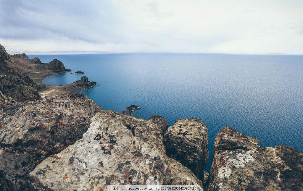 海岸风光 大海 海边 礁石 石头 摄影 自然风景山水田园