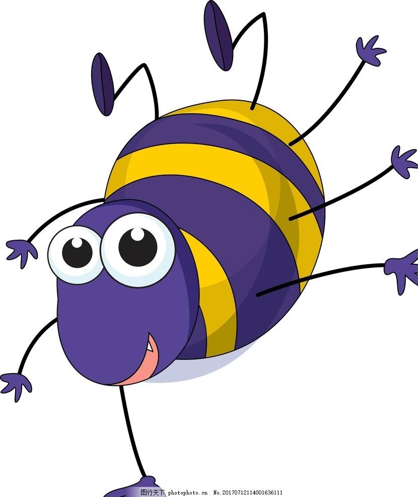 卡通昆虫 卡通动物 动漫卡通 可爱 贺卡 动物插画 插画 儿童绘本 儿童