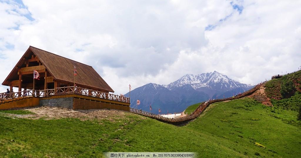 卓尔山之美 青海省 祁连县 八宝镇 卓尔山 风景 风光 摄影 旅游摄影