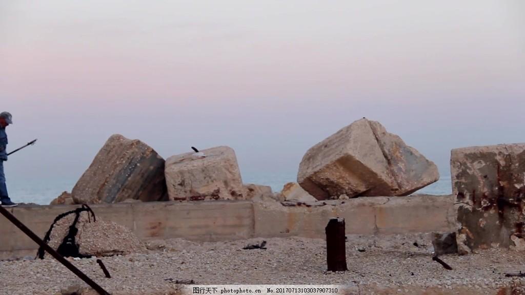 自然风景石头视频 视频背景 视频素材 视频模版
