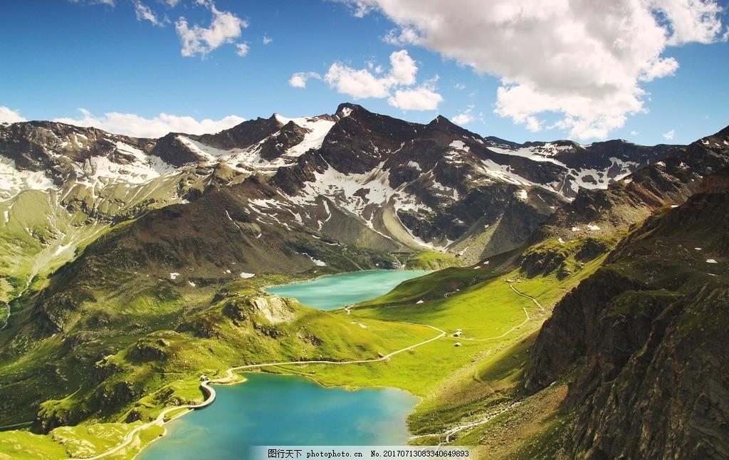 意大利山脉风景