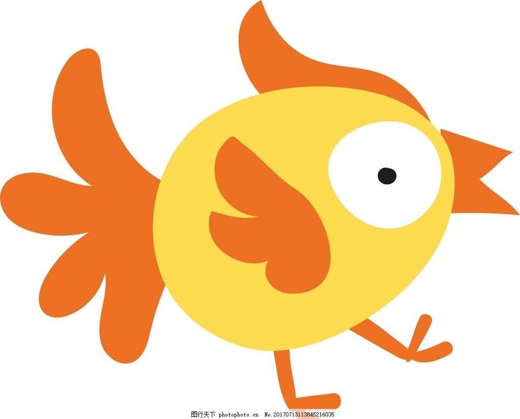 鸟 卡通动物 动漫卡通 可爱 贺卡 动物插画 插画 儿童绘本 儿童画画