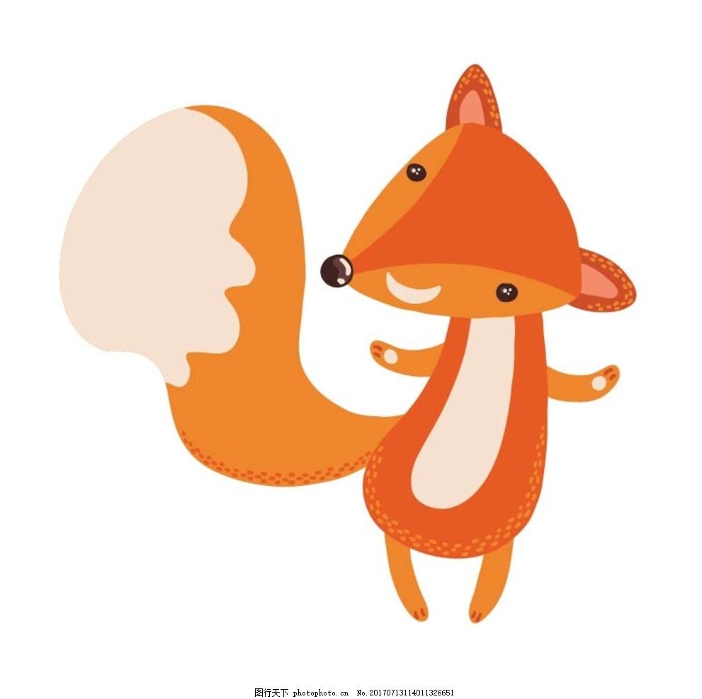 卡通狐狸图片