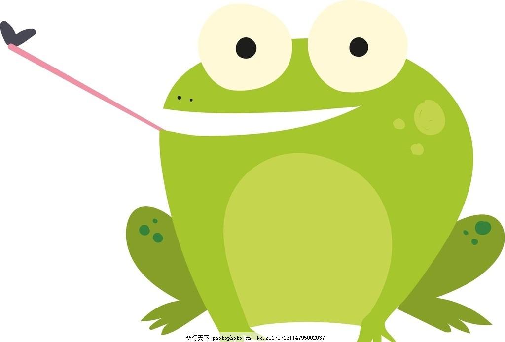 侧身青蛙简笔画