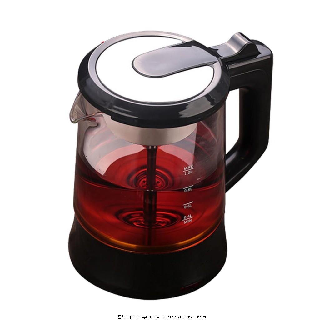 透明玻璃茶壶元素