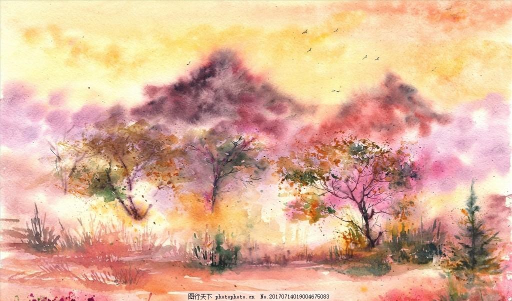 大师作品 当代 艺术家作品 挂画 名画 世界名画 西方水彩 东方水彩 风