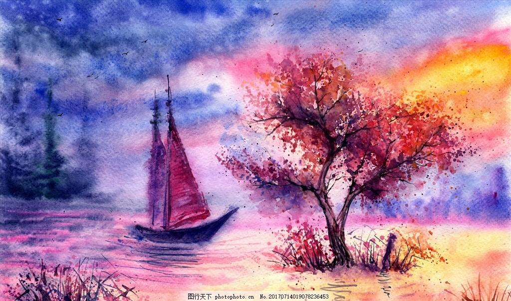 大师作品 当代 艺术家作品 挂画 名画 世界名画 西方水彩 东方水彩