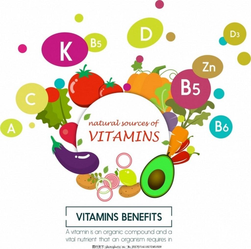 健康果蔬矢量背景 水果 果蔬 食材 健康食物 茄子 胡萝卜 西瓜 草莓