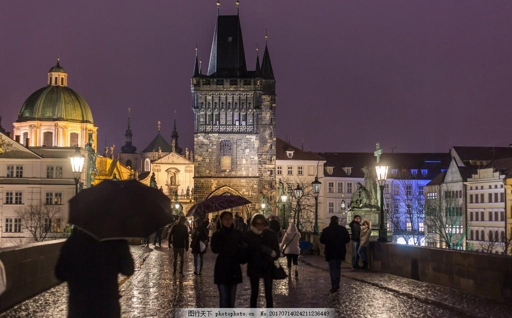 欧式古堡灯光夜景 欧式古堡 欧洲古堡 欧式 古堡 建筑 灯光 夜景 古