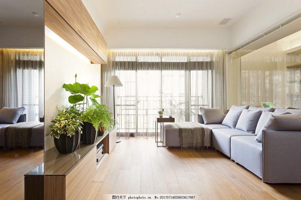 现代北欧客厅背景素材 室内设计 家装效果图 背景墙 客厅背景墙图片