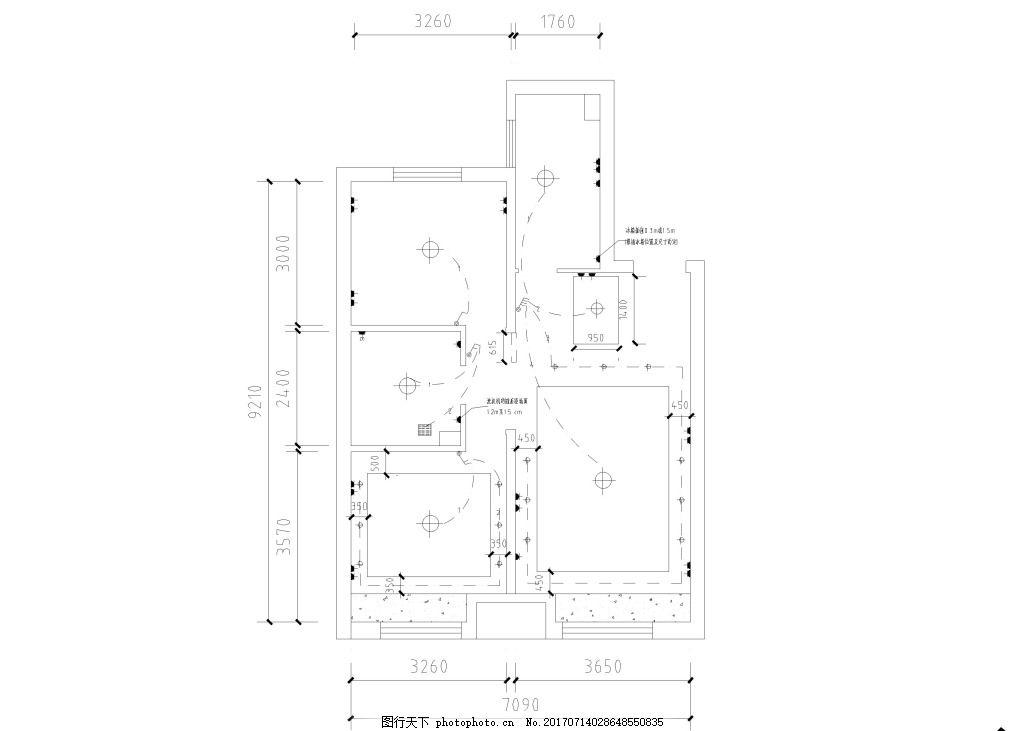 家装电路家装平面图