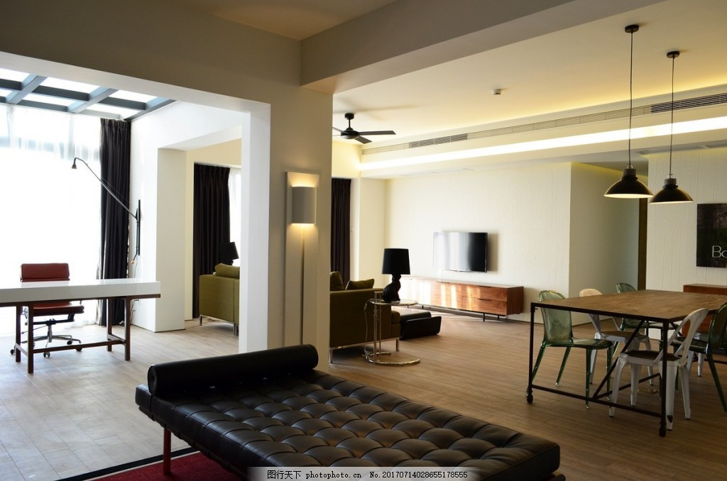 客厅背景墙装修效果图,室内设计 家装效果图 设计素材
