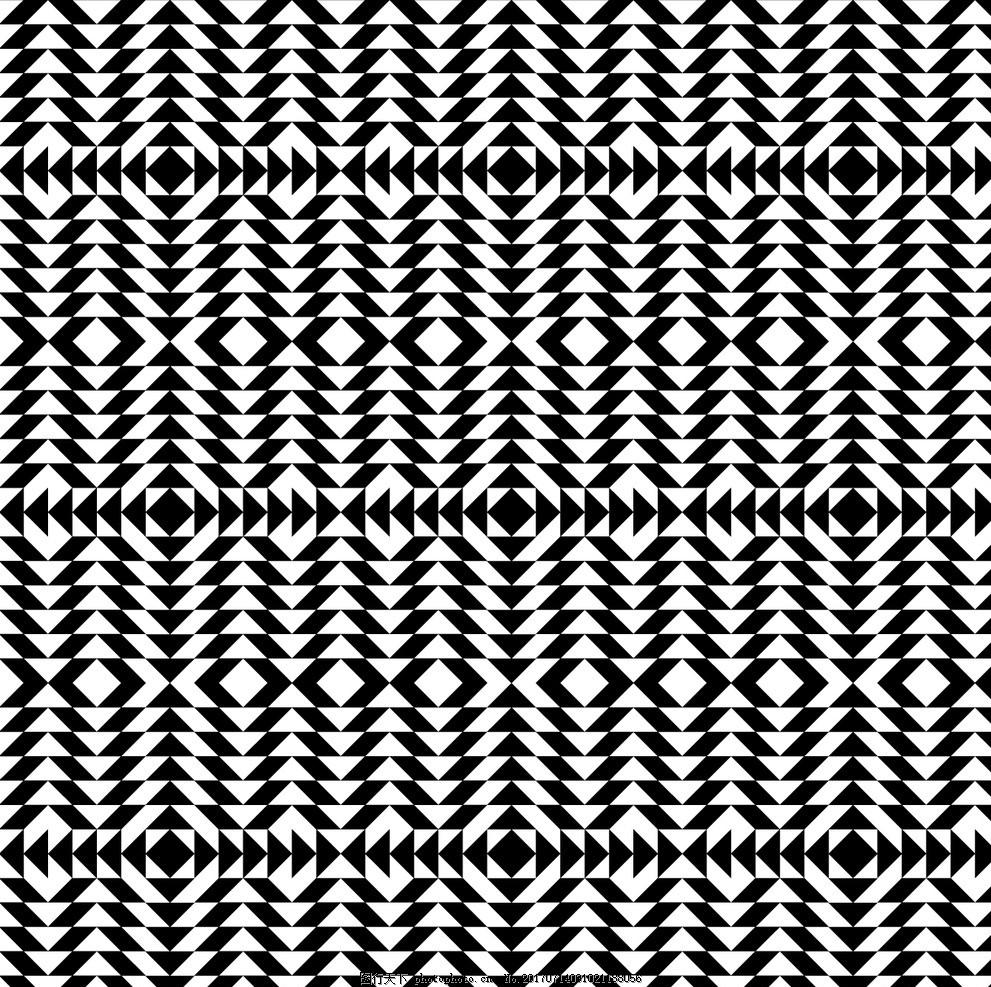 现代几何图案图片