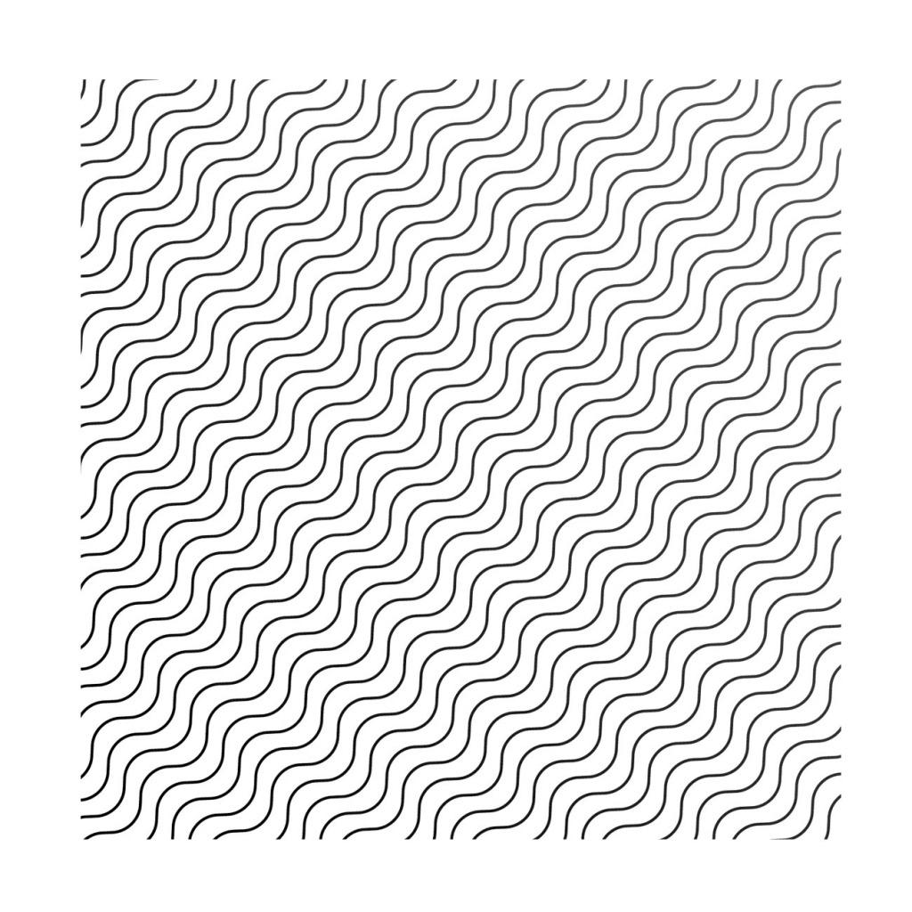 黑色线条边框元素 手绘 波浪 黑色边框 免抠
