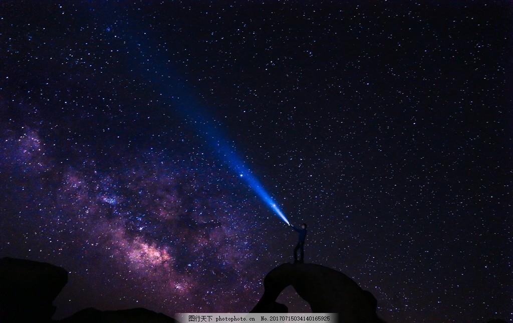 设计图库 自然景观 自然风景  星空 夜空 星星 蓝色背景 蓝绿色 夜晚