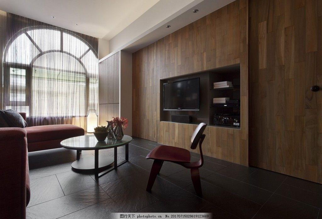 北欧客厅背景墙效果图图片