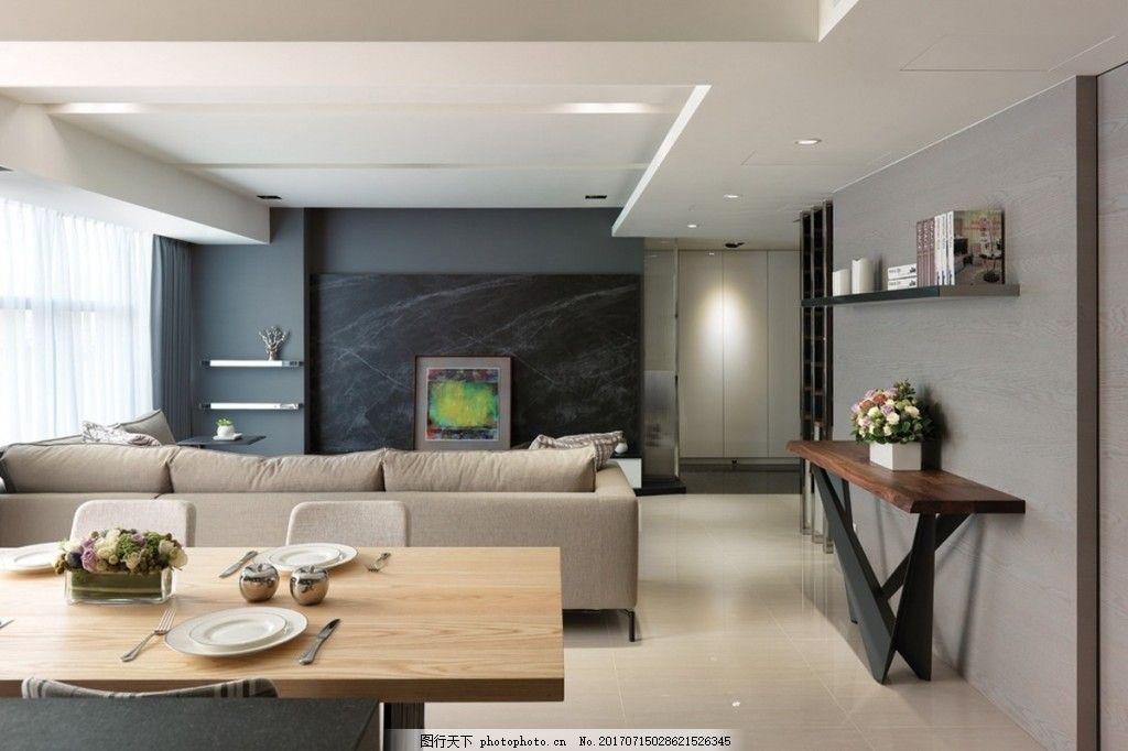 欧式简约客厅背景墙效果图 室内设计 家装效果图 jpg 背景墙 客厅背景