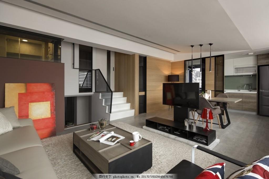 欧式客厅背景墙效果图 室内设计 家装效果图 壁纸 木质背景墙 茶几