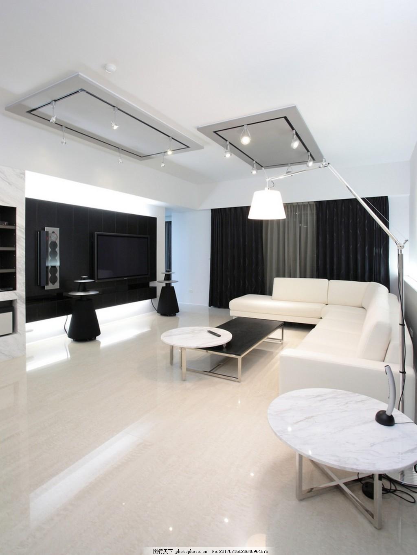 欧式简约客厅背景墙效果图 家装效果图 设计素材 室内装修 现代装修