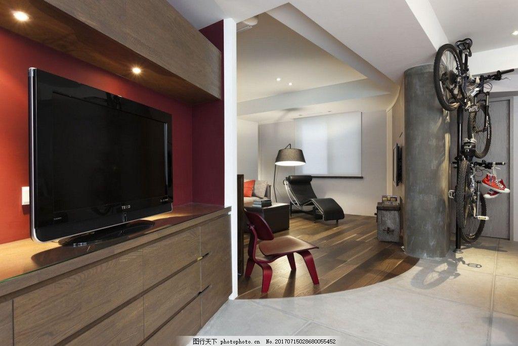 欧式家居客厅电视墙面效果图