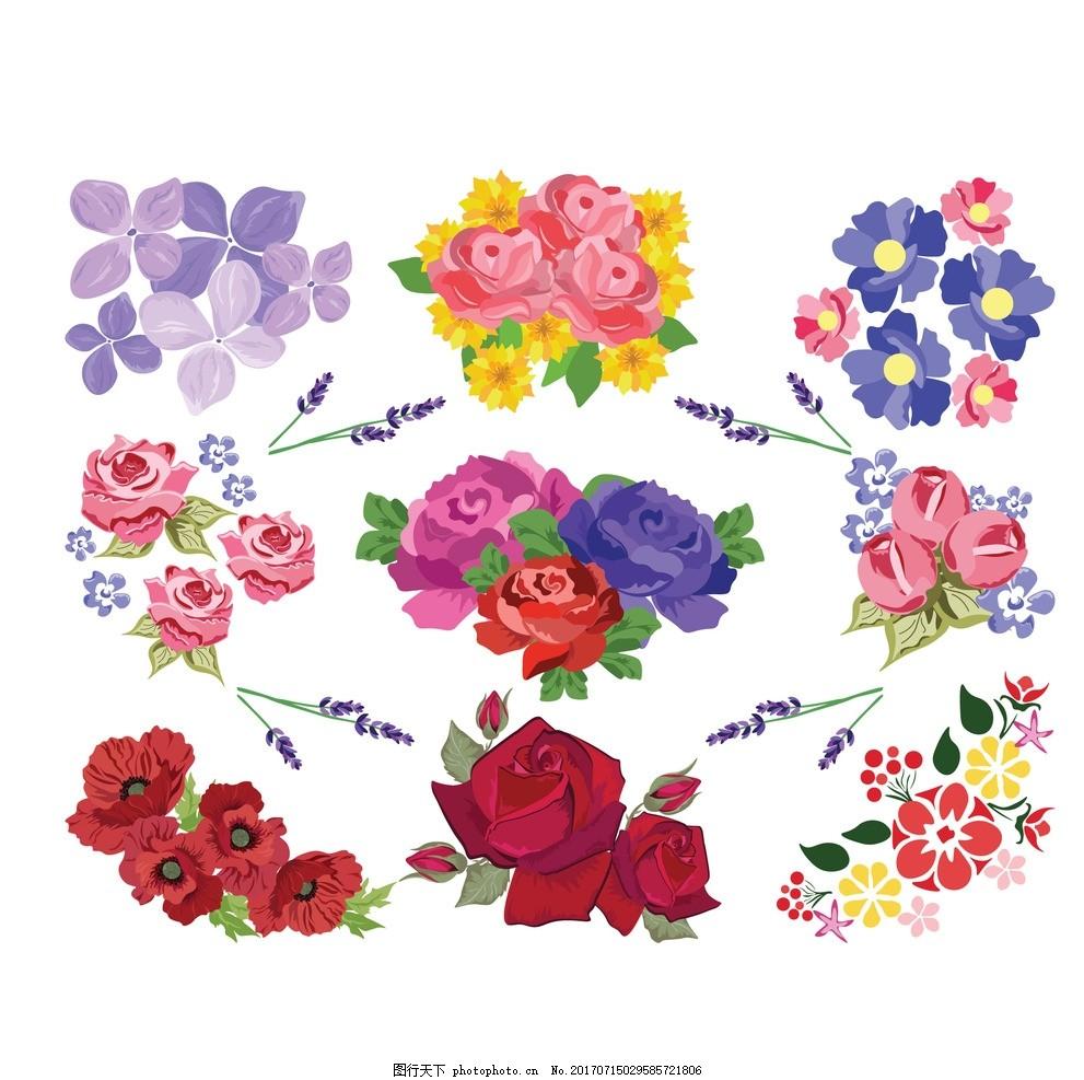 花卉 花纹背景 粉红色背景 圆形花纹 经典花纹 壁纸 背景墙 移门图案