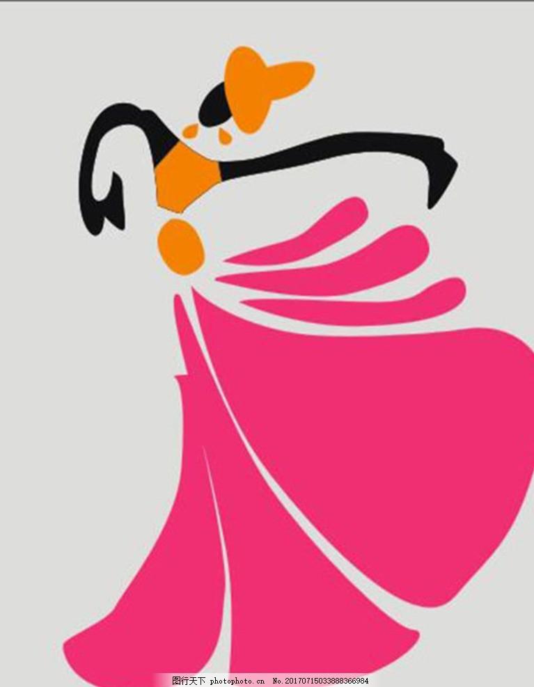 欣赏芭蕾舞者简笔画 让你更加了解芭蕾