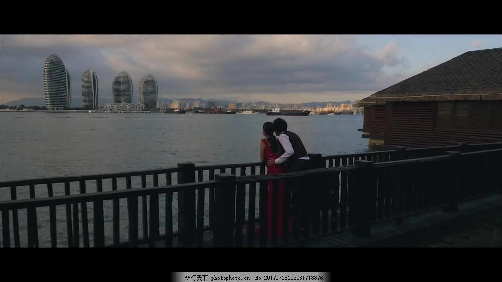 城市风景欣赏视频 视频背景 视频素材 视频模版