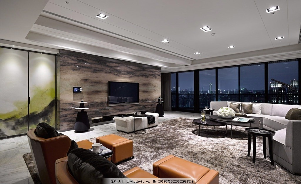 简欧式客厅背景墙效果图 家装效果图 设计素材 室内装修 jpg 客厅背景